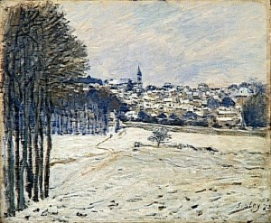 La neigeMarly-le-Roi, 1875